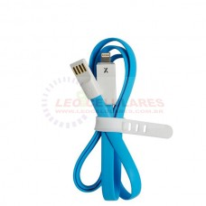 CABO DADOS USB FASHION LED PARA IPHONE 5 5C 5S 6 6 PLUS IPAD AIR