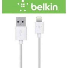 Cabo Lightning e USB para iPhone, iPad, iPod e MacBook, 3 metros, Branco, Mixit Belkin
