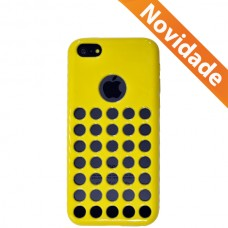 CAPA SILICONE IPHONE 5C HOLE