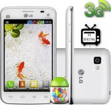 Smartphone LG Optimus L4 II E470 Branco Desbloqueado