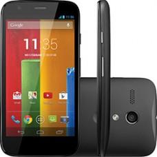 SMARTPHONE MOTO G DUAL CHIP DESBLOQUEADO PRETO 3G CÂMERA 5MP 8GB ANDROID 4.3 USADO