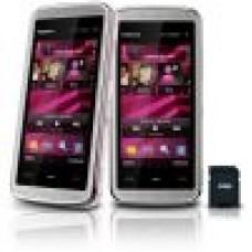 Nokia 5530 Touch screen Wi-Fi Câmera 3.2MP Rádio FM Bluetooth Cartão 4GB Branco com Rosa NOVO