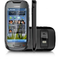 SMARTPHONR NOKIA C7 PRETO WI-FI GPS DESBLOQUEADO