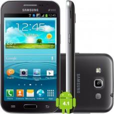 Smartphone Desbloqueado Samsung Galaxy Win Duos I8552 cinza