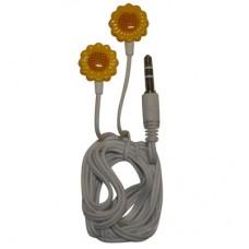 FONE MP3 PLUG P2 3,5MM MODELO FLOR