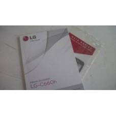 MANUAL DE USUARIO LG  C660H USADO