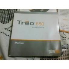 MANUAL DO USUARIO PALM TREO 650 SMARTPHONE USADO
