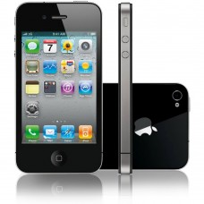 Apple iPhone 4 8GB Preto 3G GPS Câmera 5.0MP MP3 MP4 Player Wi-Fi Bluetooth