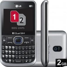 LG C397 dual chip Radio Tela de 2.3 Desbloqueado