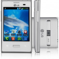 LG Optimus L3 E400 Android 2.3 - Câmera 3.2MP Wi-Fi GPS Bluetooth MP3 Player USADO
