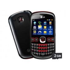 CELULAR LG C300 CÂMERA 2MP MP3 PLAYER BLUETOOTH CARTÃO 2GB