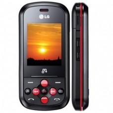LG GB280 PRETO COM VERMELHO MP3 PLAYER CÂMERA DE 2MP RÁDIO FM E BLUETOOTH