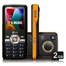LG GM205 GSM CAMERA 2.0MP  ZOOM 4X FILMADORA MP3 PLAYER RÁDIO FM GRAVADOR BLUETOOTH 2GB