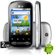 SMARTPHONE LG OPTIMUS P350 DESBLOQUEADO ANDROID 2.2 FROYO 3G WI-FI GPS CÂMERA 3.2 MP MP3 PLAYER RÁDIO FM