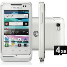 MOTOROLA XT303 DESBLOQUEADO NACIONAL BRANCO 3G WIFI GPS CAMERA 2MP MP3 PLAYER