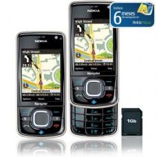 CELULAR NOKIA 6210 NAVIGATOR 3G GPS CÂMERA 3.2MP MP3 CARTÃO 1GB