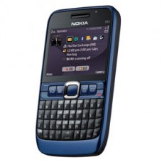 Nokia E63 - azul - Camera 2mp, Memoria 2gb, Wi-fi, Bluetoot USADO
