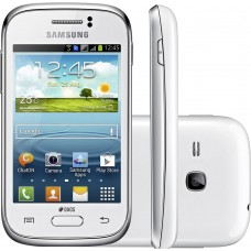 SMARTPHONE SAMSUNG YOUNG PLUS DUOS TV 3G ANDROID 4.1 BRANCO S6293