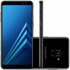 Samsung A8 A530F Preto 4G 4GB RAM 64GB Octa-Core Camera Dupla 16MP