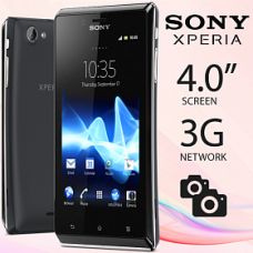 SONY XPERIA J ST26 5MPX ANDROID WIFI 4GB