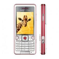 CELULAR SONY ERICSSON C510 RED GSM CÂMERA 3.2MP RÁDIO FM E CARTÃO 1GB SEMI NOVO