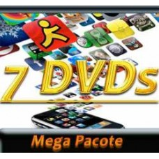 7 Dvd Aplicativos, Jogos, P/ Iphone,ipod,ipad