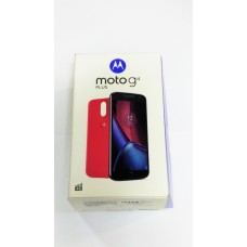 CAIXA E MANUAL DO MOTO G4 PLUS BRANCO XT1640 ORIGINAL