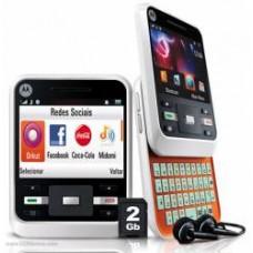 CELULAR Motorola A45 MOTOCUBO Branco Teclado Qwerty Câm. 2.0 MPX
